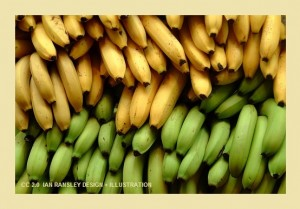 Bananas 300x209 What to Eat for Heartburn   Five Foods to Stop Heartburn